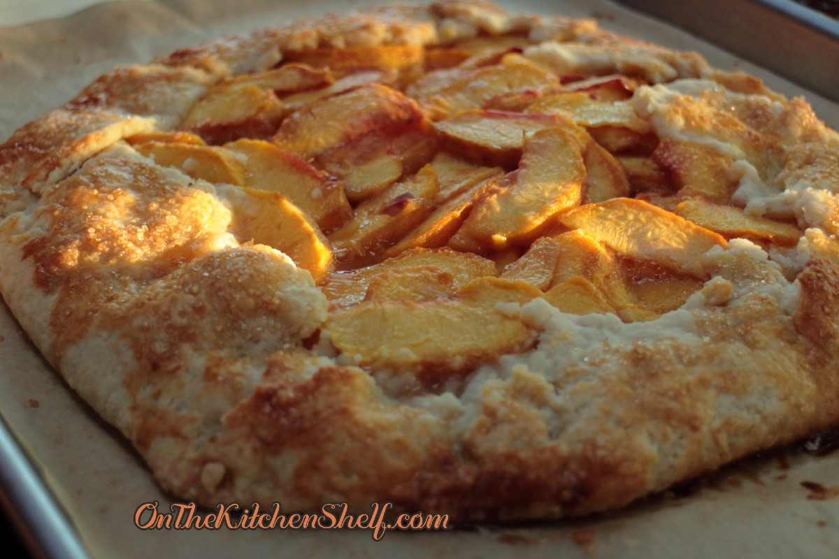 Local peaches - Perfect for a Rustic Peach Pie