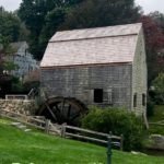 The Dexter Grist Mill in Sandwich, Massachusetts on Cape Cod