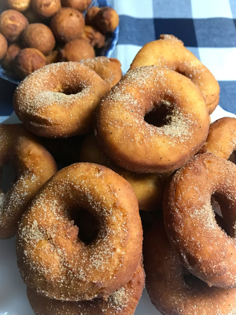 Sour Milk Doughnuts