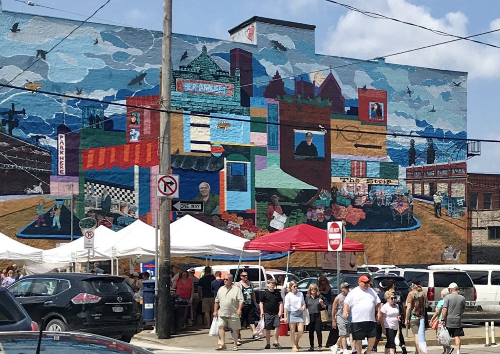 The Pittsburgh Strip District