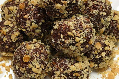 Chocolate Walnut Date Bites