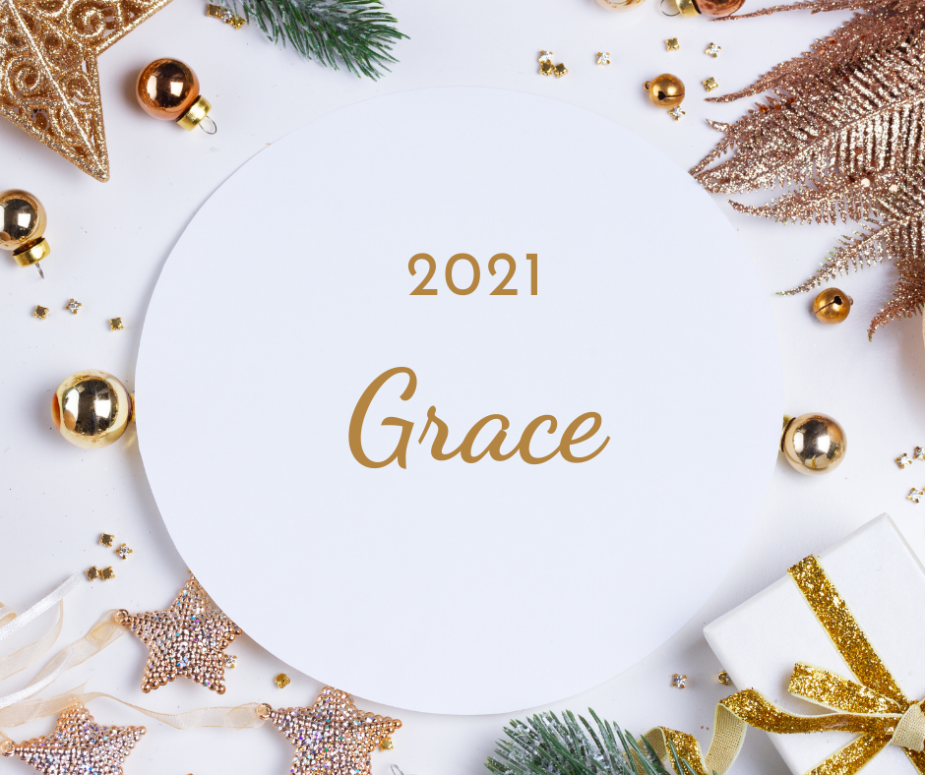 Grace - a theme for the new year